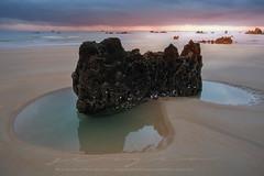 Segunda juventud (sgsierra) Tags: noja playa cantabria españa amanecer color cantábrico