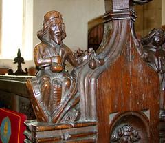 seven deadly sins: Greed (15th Century) (Simon_K) Tags: wiggenhall st germain germans norfolk eastanglia church churches