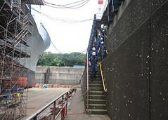 160816-N-XF387-096 (CTF 76) Tags: ussblueridge usnavy yokosuka ctf76 admiral srf edsra shiptour japan