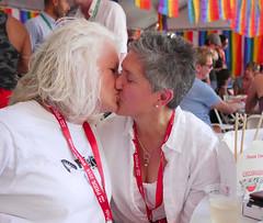 pf15mck016 (Symic) Tags: select 2016 pride salt lake city utah slc park celebrate equality festival rainbow kiss couple happy proud mona stevens christan cristen