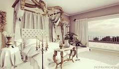 Royal Boudior (Sadie Nova) Tags: secondlife sl shadows pixelmode pilot photography interiorscapes interiordesign interiorscapessl bedroom indoors