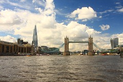 Towers (innpictime  ) Tags: water river sky architecture london thames 515034100069040 shard skyscraper cityscape londonriver towerbridge cityhall butlerswharf walkietalkie skyline