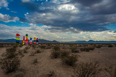 Lost Boulders, Need Home (whymac) Tags: color boulders rocks dirt las vegas nevada landscape beautiful clouds blue rain desert colorful whymac ocean do support donald trump but will use his name clickbate pls dont hate me