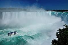 Horseshoe Falls (J-Fish) Tags: horseshoefalls niagarafalls waterfall maidofthemist boat ontario newyork canada d300s 1685mmf3556gvr 1685mmvr