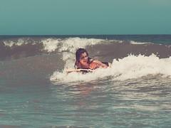 { water girl } (Web-Betty) Tags: florida water surf sun fun ocean atlanticocean daytonabeach