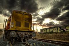 Train RATAL (O.MachinTruc) Tags: train graff olivier machintruc micheli d600 2470 hdr languedoc landscape ratal