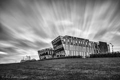Fast Sky (Andy Gibbins Images) Tags: mono monochrome blackandwhite sky longexposure bt building architecture northeastuk southshields southtyneside nikon d5500 10stop