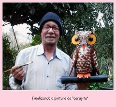 2016-07-21 14.17.32 (Ciranda Cirandinha Artesanato) Tags: pneus reciclagem tires recycled owl corujas artesanato
