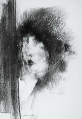P1015508 (Gasheh) Tags: art painting drawing sketch portrait woman pastel gasheh 2016