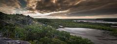 Salt flats and Sunrise. (lynamPics) Tags: 24105l 5dmkii capeclevaland sunrise townsville australia landscape leefilters