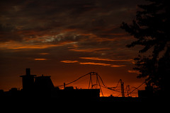 Dawn of Autumn (Ennev) Tags: pentaxk3ii cloud clouds fall goldenhour mileend montreal sunrise dawn september 2016 pentax