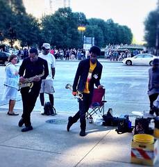 Chicago Traffic Jam (gillianchicago) Tags: trumpet jazzfest streetmusicians chicagotrafficjam downtown chicago