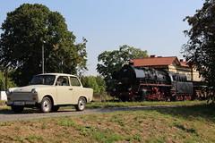 2016-09-15; 081.  Loc 50 0072-4 en SL 110 108-8 met Guterzug 202, Immelborn (Martin Geldermans; treinen, Zge, trains) Tags: 5000724 1101088 eisenach plandampf2016 kohlefrdampfstahlfrparis igewerrabahn immelborn stoomtrein stoom steamlocomotive steam dampf dampfzge dampflok