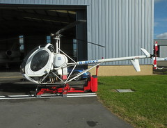 G-BOXT HUGHES 269C (BIKEPILOT) Tags: flying airport aircraft aviation helicopter gloucester airfield egbj hughes269c gboxt