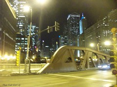 Wacker Dr (That Tall Girl Aj) Tags: bridge chicago night