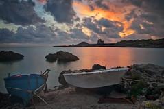 Porto Pirrone (invitojazz) Tags: sunset sea 2 clouds boat cool nikon italia tramonto nuvole mare torre barche puglia taranto d90 saturo uncool8 uncool3 uncool4 uncool5 uncool6 uncool7 invitojazz vitopaladini
