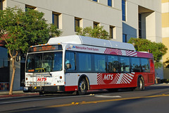 MTS Bus (So Cal Metro) Tags: bus sandiego metro transit midcity 700 mts cityheights sandiegotransit newflyer rt10 c40lf bus710