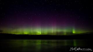 Northern Lights (Aurora Borealis), Isle of Mull, Scotland