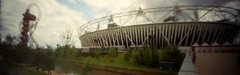 Olympic Stadium (x GONZO x) Tags: 35mm panoramic pinhole olympics