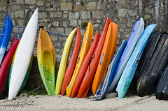 _DSC8021 (mary~lou) Tags: boats nikon kayak many row stack canoe colourful leaning lots maryfletcher 15challengeswinner mary~lou