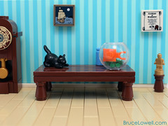 Finding Nemo (bruceywan) Tags: fish dinner cat finding nemo lego photostream moc ironbuilder brucelowellcom ironbuilder2 ibbl2