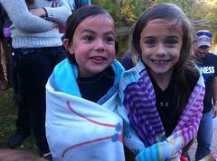 Emma an Ava after baptism