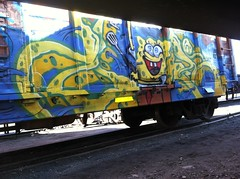 Nas Bob (all_nation7) Tags: train graffiti all fuck box nation crack spongebob boxcar burner obama nas hoes nigga freights cholo allnation trtains nasgraffiti nasfreights nasnme nasallnation niggasindahood