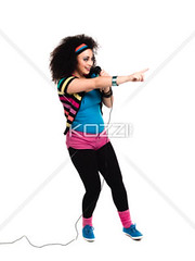 side view of a female singer (karlapeople2012) Tags: music woman cute beautiful beauty female fun photography singing fulllength performance lifestyle happiness funky indoors entertainment whitebackground singer karaoke microphone casual leisure studioshot hobbies sideview pointing youngadult performer curlyhair enjoyment casualwear adultsonly skill caucasian modernrock casualclothing handraised colorimage leisureactivity onewoman oneyoungwomanonly artscultureandentertainment 2024years