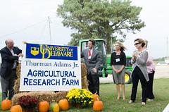 Thurman Adams Farm Dedication Ceremony (UDCANR) Tags: georgetown carvel cooperativeextension thurmanadamsfarmdedication