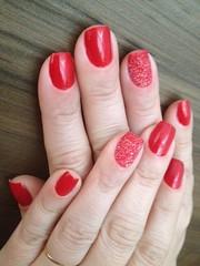 Unha de açúcar (Sara Moreira de Oliveira) Tags: red cute nail vermelho nails unhas nailart rednails revlon capricho unhasvermelhas unhasdecoradas unhadasemana clubedoesmalte sugarnails unhasdeaçucar