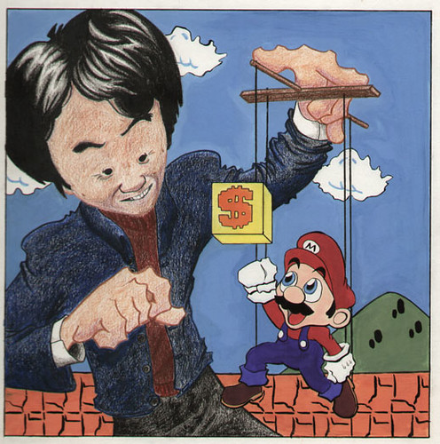 Shigeru Miyamoto, obra de JoeyDangerous