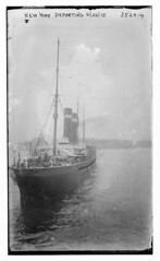 NEW YORK departing, 6/26/15  (LOC) (The Library of Congress) Tags: ship libraryofcongress usnavy usn cruiser cityofnewyork oceanliner unitedstatesnavy trooptransport xmlns:dc=httppurlorgdcelements11 americanline johnbrownco inmanline johnbrownandcompany johnbrowncompany ssnewyork johnbrownandco auxiliarycruiser internationalnavigationcompany americanblacksealine sscityofnewyork ussharvard1898 ussharvard ussplattsburg1918 ussplattsburg polishnavigationcompany irishamericanline unitedtransatlanticline dc:identifier=httphdllocgovlocpnpggbain19406