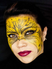 ::Halloween Makeup I:: (Juliana Gutirrez Fotografa) Tags: woman halloween face mujer eyes makeup ojos rostro beatiful maquillaje nochedebrujas