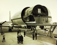 Convair/General Dynamics Plant and Personnel (San Diego Air & Space Museum Archives) Tags: airplane aircraft aviation boeing panam tal paa panamerican pw dc10 prattwhitney superguppy transocean 15938 mcdonnelldouglasdc10 stratocruiser transoceanairlines b377 stratofreighter panamericanairways 522693 aerospacelines aerospacelines377sgsuperguppy n1038v boeing377 boeing377stratocruiser n904na aerospacelinessuperguppy convairgeneraldynamics convairgeneraldynamicsplantandpersonnel dc10fuselage yc97j prattwhitneyt34 pwt34 clipperconstitution boeingstratofreighter cn15938 fuselagebarrel nasa904 boeingyc97jstratofreighter boeingyc97j yc97jstratofreighter n904ns n408q cn15944 t34p7wa