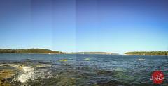 Balmoral Pan (Winnie Liu // photography + art) Tags: ocean travel blue sea panorama beach beautiful landscape photography liu sydney scenic australia pan sight winnie balmoral winnieliu wliu