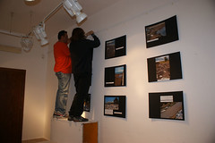 "allestimento della mostra fotografica ""Fiuta il rifiuto"" • <a style=""font-size:0.8em;"" href=""http://www.flickr.com/photos/68353010@N08/8131336109/"" target=""_blank"">View on Flickr</a>"