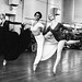 Georgina Parkinson with members of The Royal Ballet during rehearsals for Mayerling © Roy Round 1978
