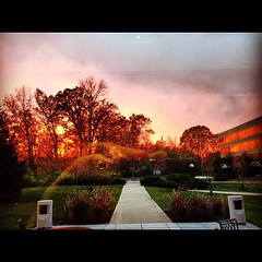 Sky courtesy of #Hurricane #Sandy