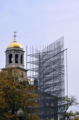 Boston Old and New (AntyDiluvian) Tags: sculpture abstract boston wire closed downtown open massachusetts kinetic cupola faneuilhall congressstreet windwindwind michioihara 60statestreet