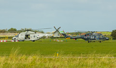 In with the new, out with the old.. (Boushh_TFA) Tags: show netherlands de airport nikon den ad nederland sigma os helder westland lynx 2012 airfield 261 61 vliegveld kooy nh90 maritiem dhr 120300mm ehkd vliegkamp sh14d nhindustries heldair d7000 n228