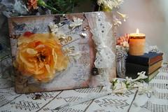 DSC_0331 (Lotusblu.mk) Tags: wedding barn book handmade album rustic cottage chic guest bound coptic shabbychic