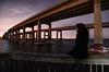 Bridges (Shadows vines) Tags: park city bridge light portrait water night self landscape island pier nikon long exposure cityscape sandy hurricane low overpass tokina cocoa 11mm merritt d7000 tokina1116mmf28