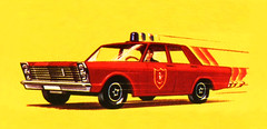 "Matchbox Lesney Toys ""Box Art Work"" Ford Galaxie ""Fire Chief"" Car No.59 - 8 Of 109 (Kelvin64) Tags: ford car toys matchbox galaxie firechief lesney no59 boxartwork"