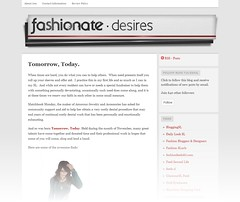 Fashionate Desires Blog Header Sample - Stylised (LiquidHell Carter) Tags: fashion modern design blog graphic image header elegant simple desires bold watermark chique classy fashionate