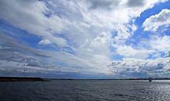 Horizon (SamSpade...) Tags: clouds perspective tribute lakeontario 449 windfarm newhorizons wolfeisland ferryview thelooklevel3 hurricanesandy 017812oct