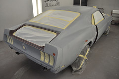 "S code 1969 Mustang Mach 1 390 4 speed Fastback Restoration Ready For Paint • <a style=""font-size:0.8em;"" href=""http://www.flickr.com/photos/85572005@N00/8150741885/"" target=""_blank"">View on Flickr</a>"
