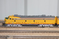 Union Pacific Wyoming Division (twm1340) Tags: railroad arizona up train layout model pacific diesel union az western locomotive ho division verdevalley emd 937 cornville e8a verrylfosnight