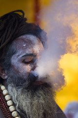 The Passion... (Subhojit...) Tags: street portrait canon religion holy 7d f2 135mm llens gangasagar