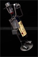 Drunken Tog (Nigel Jones QGPP) Tags: red metal drunk iron photographer wine welding leaning dutchtilt