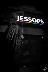 death of the high street [Explored] (sherlylock) Tags: death nikon dress explore fancy administration essex southend jessops scythe explored d7000